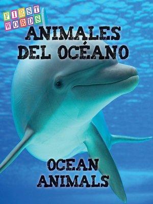 cover image of Animales del océano