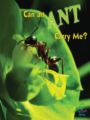 cover image of Can an Ant Carry Me?