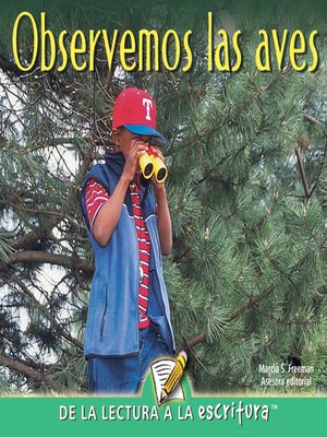 cover image of Observemos Las Aves (Let's Look for Birds) (Spanish-Readers for Writers-Emergent)