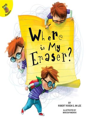 cover image of Where is My Eraser?