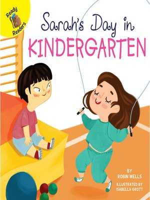 cover image of Sarah's Day at Kindergarten
