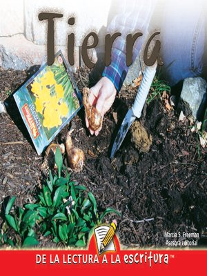 cover image of Tierra (Dirt) (Spanish-Readers for Writers-Early)