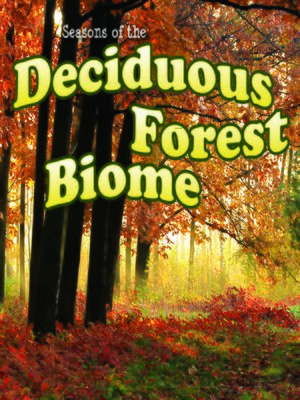 cover image of Seasons of the Deciduous Forest Biome