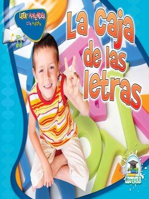 cover image of La caja de las letras (Letter Box)