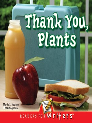 cover image of Thank You, Plants!