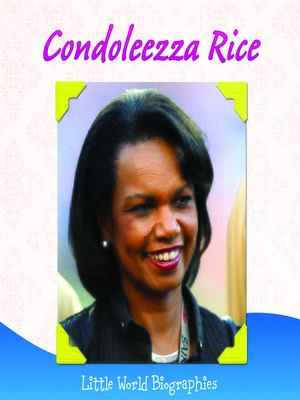 cover image of Condoleezza Rice