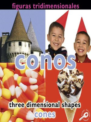 cover image of Conos (Three Dimensional Shapes: Cones)