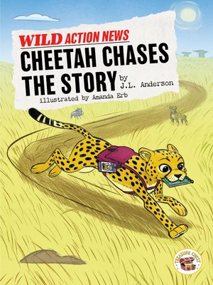 cover image of Cheetah Chases the Story