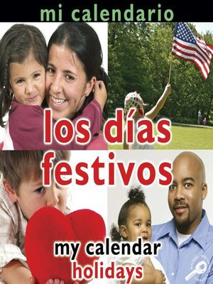 cover image of Los días festivos (My Calendar: Holidays)