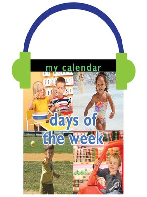 cover image of My Calendar: Days of the Week