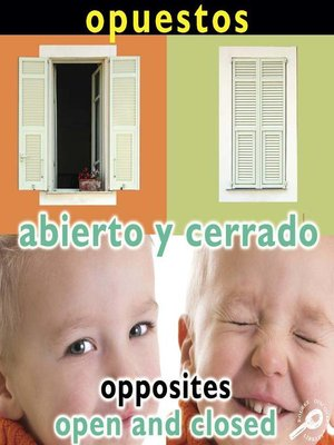 cover image of Abierto y cerrado (Opposites: Open and Closed)