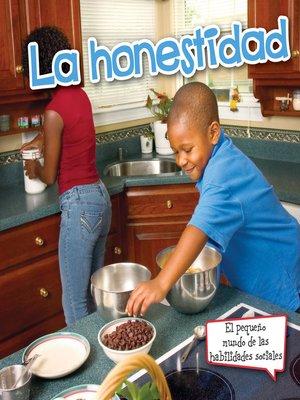 cover image of La honestidad (Honesty)