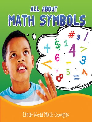 cover image of All About Math Symbols