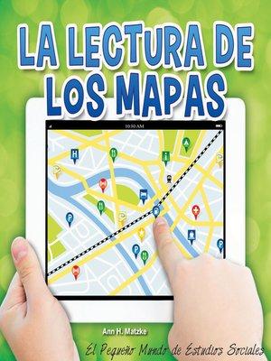 cover image of La lectura de los mapas