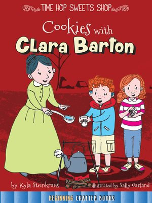 cover image of Cookies with Clara Barton