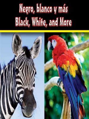 cover image of Negro, blanco y más (Black, White, and More)