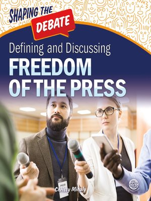 cover image of Defining and Discussing Freedom of the Press