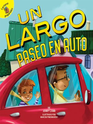cover image of Un largo paseo en auto