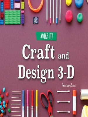 cover image of Craft and Design 3-D
