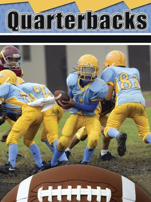 cover image of Quarterbacks