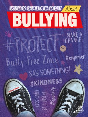 cover image of Kids Speak Out About Bullying