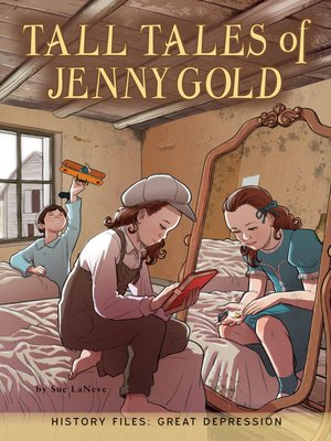cover image of Tall Tales of Jenny Gold