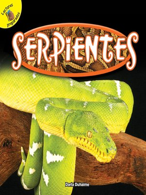 cover image of Serpientes (Snakes)