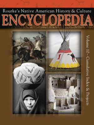 cover image of Native American Encyclopedia Cumulative Index & Projects