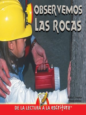 cover image of Observemos Las Rocas (Let's Look at Rocks) (Spanish-Readers for Writers-Early)