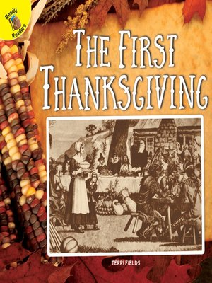 cover image of The First Thanksgiving