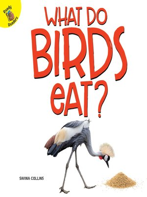 cover image of What Do Birds Eat?