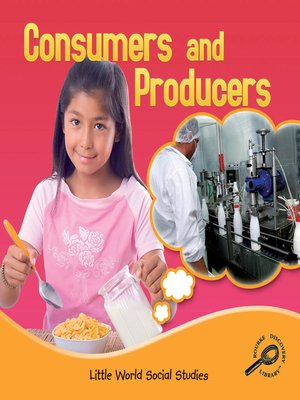 cover image of Consumers and Producers