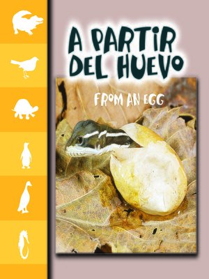 cover image of A partir del huevo (From an egg)