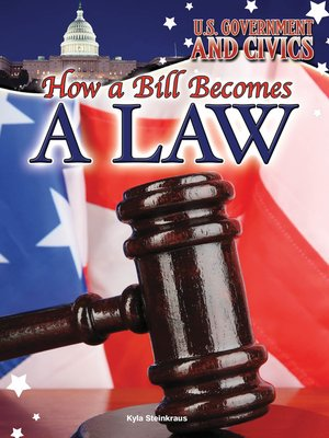 cover image of How a Bill Becomes a Law
