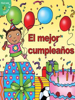 cover image of El mejor cumpleaños