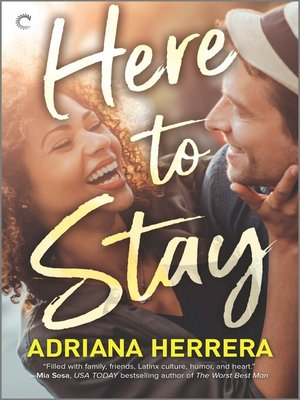 cover image of Here to Stay--A Workplace Romance