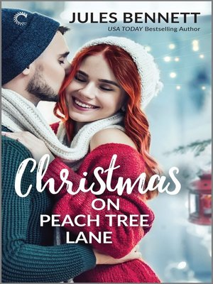 cover image of Christmas on Peach Tree Lane