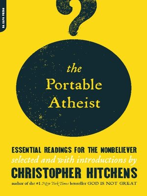 cover image of The Portable Atheist