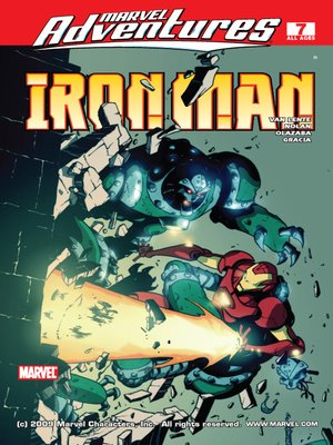 cover image of Marvel Adventures Iron Man, Issue 7