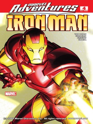 cover image of Marvel Adventures Iron Man, Issue 4