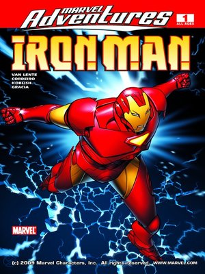 cover image of Marvel Adventures Iron Man, Issue 1