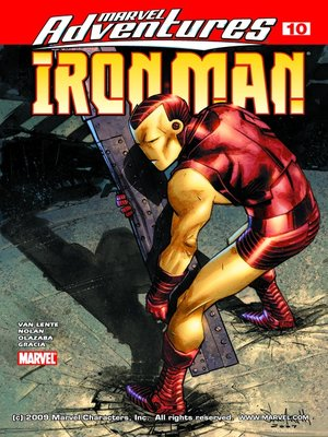 cover image of Marvel Adventures Iron Man, Issue 10