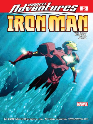 cover image of Marvel Adventures Iron Man, Issue 5