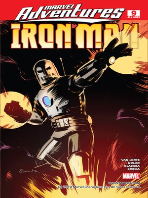 cover image of Marvel Adventures Iron Man, Issue 9
