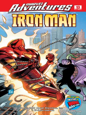 cover image of Marvel Adventures Iron Man, Issue 13