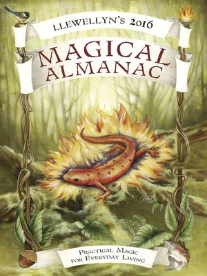 cover image of Llewellyn's 2016 Magical Almanac