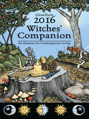 cover image of Llewellyn's 2016 Witches' Companion