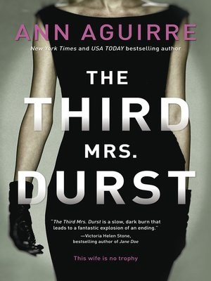 cover image of The Third Mrs. Durst