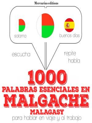 cover image of 1000 palabras esenciales en malgache (malagasy)