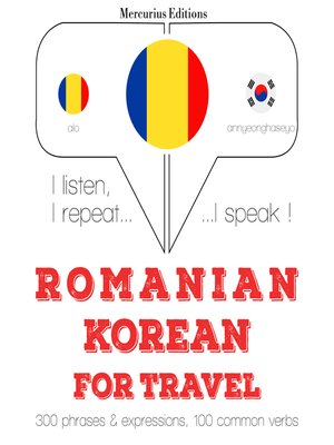 cover image of Romanian-Korean: For travel